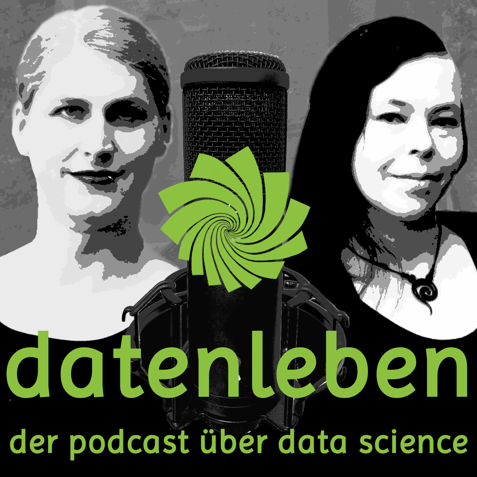 Podcast Cover: datenleben - der podcast über data science